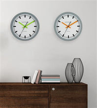 Swiss Station Clocks With Continuous Sweep Second Hands
