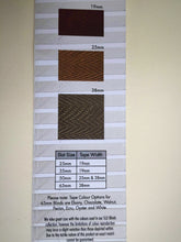 "Superior Wood Venetians 35 mm (1.5"") Taped"