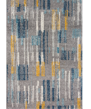 bombay teal and ochre rug main image