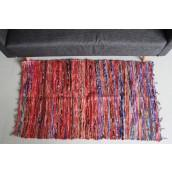 Indian rag rug runner size small