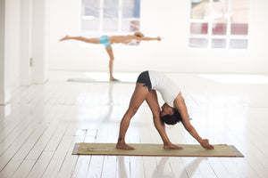 Natural Yoga Mat pose