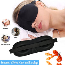 inflatable travel pillow with sleep mask and carry bag