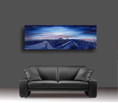 The Dam Spot - Glamis Sand Dunes Metal Print Original Art Andy Radke