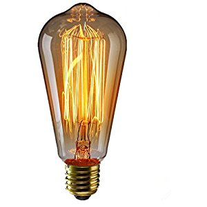 1910 Edison LED Light bulb
