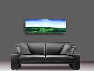 is this heaven couch art metal prints metal print printed on metal aluminum original art artist andy radke oil paining