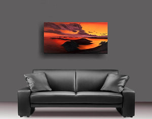 metal prints metal print printed on metal aluminum original art artist andy radke oil paining