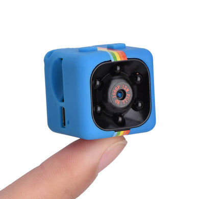 HD 1080p IR Night Vision 140° Wide Angle Mini DVR Camera With Smart Loop Recording Motion Detection