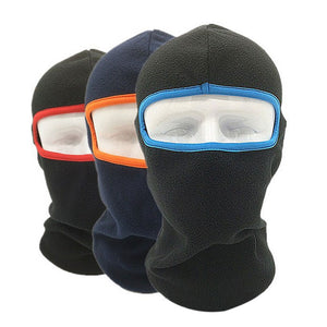 Winter Warm Thermal Fleece Balaclava Hunting Shooting Headwear Full Face Mask Sport Snood Hood Scarf Beanie Hats Caps