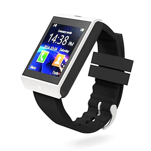 Bluetooth Smart Watch Wrist Clock Sync Notifier Support SMI TF Smartphones Smartwatch