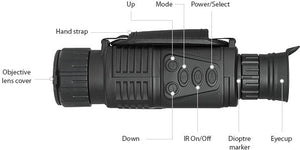 Infrared Digital Night Vision Monocular Scope 5x40 for 200 Meter zoom 5X, IR, 5MP digital camera video in CCD!