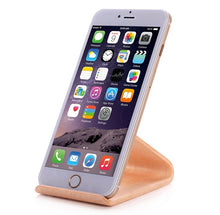 Wood Grain Universal Wood Holder for phone or tablet