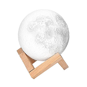 3d moon map night light lamp