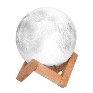 3D Moon Night Light