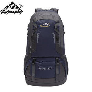 Outdoor Hiking Bag 60L Camping Travel Waterproof Mountaineering Backpack For Travel Sport Hiking Bag 6 colors