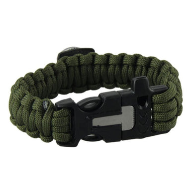 Outdoor Camping Bracelets For Men Women Parachute Rope Clasp Survival Bracelet Home Handmade Braided 2 Colors