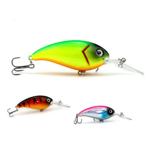 Crankbait Fishing Wobblers Trolling Tackle