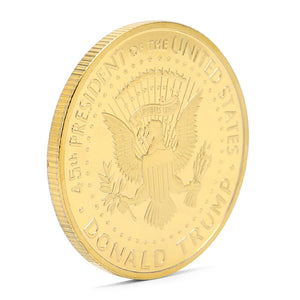 trump coin store buy president Donald Trump collectors coin gold