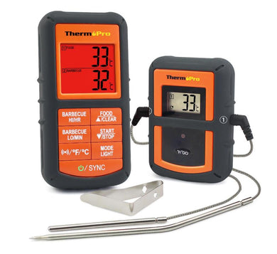 Remote Wireless BBQ Smoker Thermometer