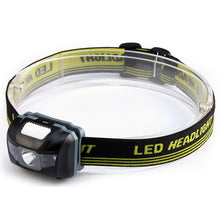 LED Infrared Waterproof Headlight Bicycle Light