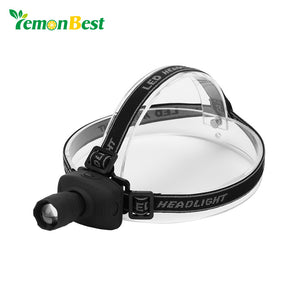 LemonBest 1W LED Headlamp White Headlight Camping Fishing Hiking Hunting Riding Head light Cabeza Fog Lamp Flashlight