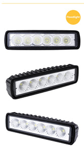LED Light Bar For Trucks Quad Dirt Bike Headlights