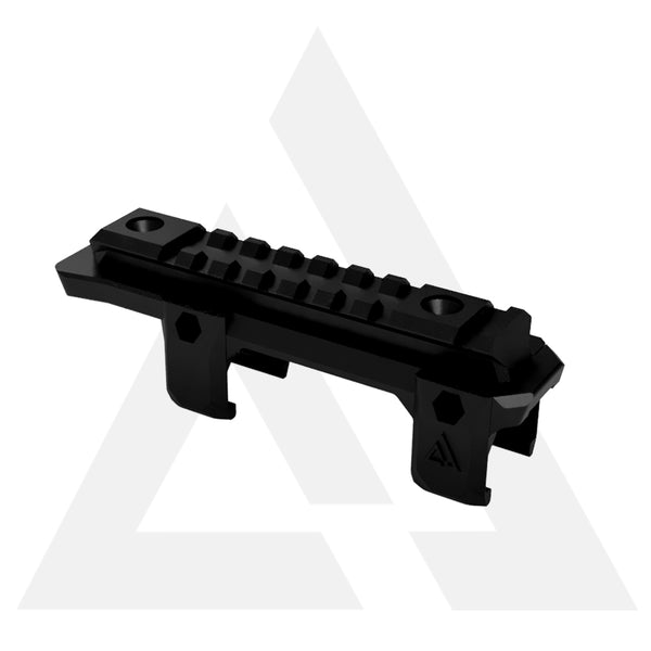 ADAPTADOR E ELEVADOR DE TRILHO- MP5 AIRSOFT