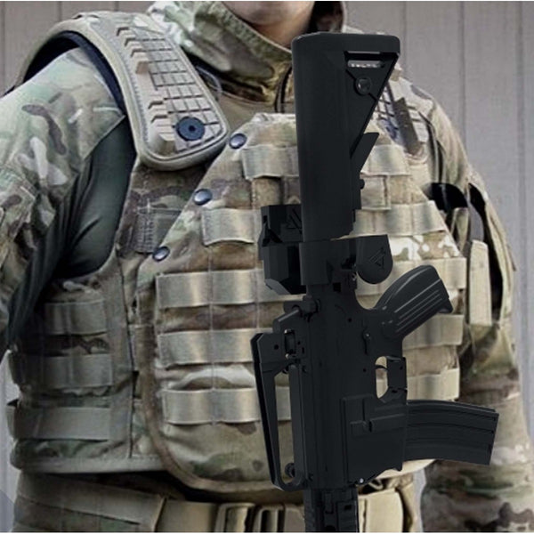 Tactical Clip - PADRÃO TUBE STOCK M4 - SISTEMA MOLLE