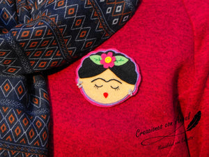 broche frida kahlo