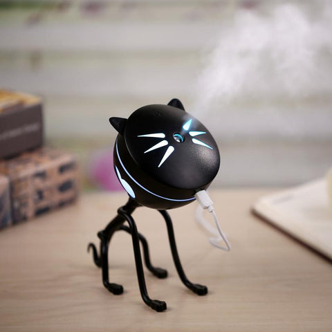 Cat Shape Lamp Humidifier