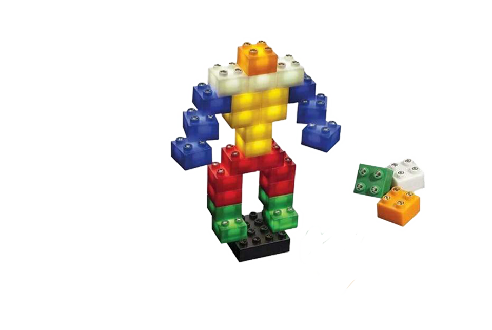 Build blocks that glow!