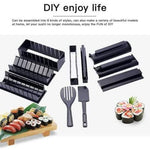 Sushi Maker 10pcs Rice Roll Mold Kitchen Chef Set - Greatest deals