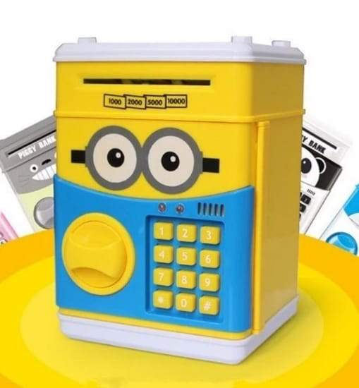 ATM Saving Box - Minions (Kids Cartoon) - Greatest deals
