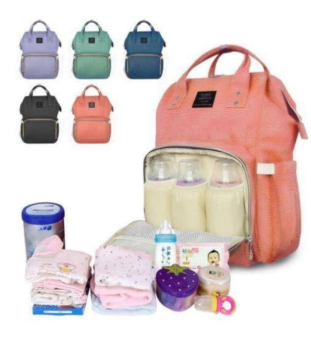 Maternity Nappy Diaper Bag Large Capacity Baby Child Bag Travel Backpack. (Red Only Available)