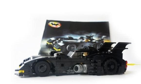 Batmobile Building Blocks Kit Puzzle 366 Pieces - Greatest deals