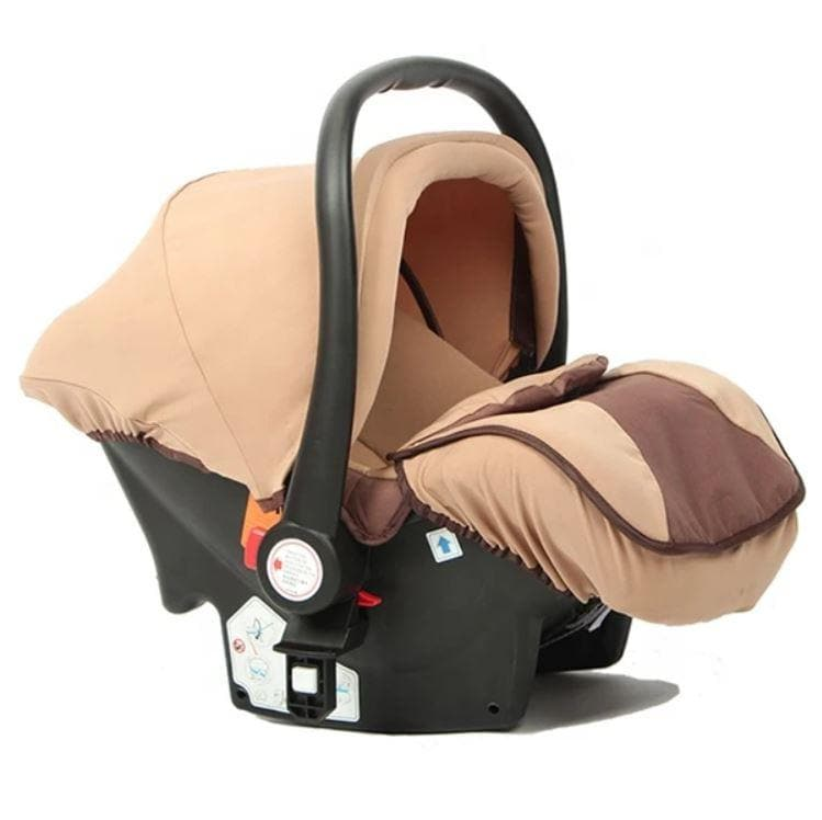 Belecoo Luxury Stroller -Khaki 3 In 1