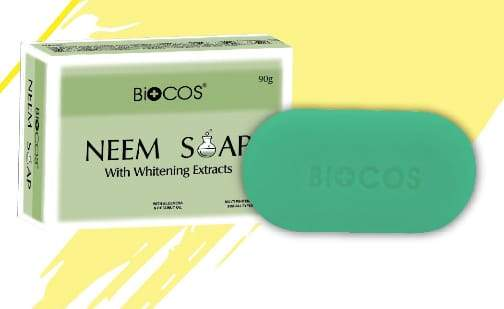 Biocos Anti Bacterial And Whitening Neem Bar