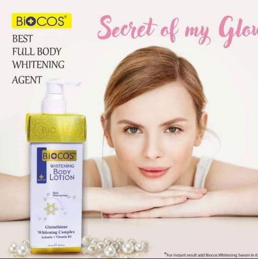 Biocos Whitening Body Lotion With Glutathione - Greatest deals