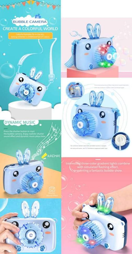 Bubble Camera Bunny - Greatest deals