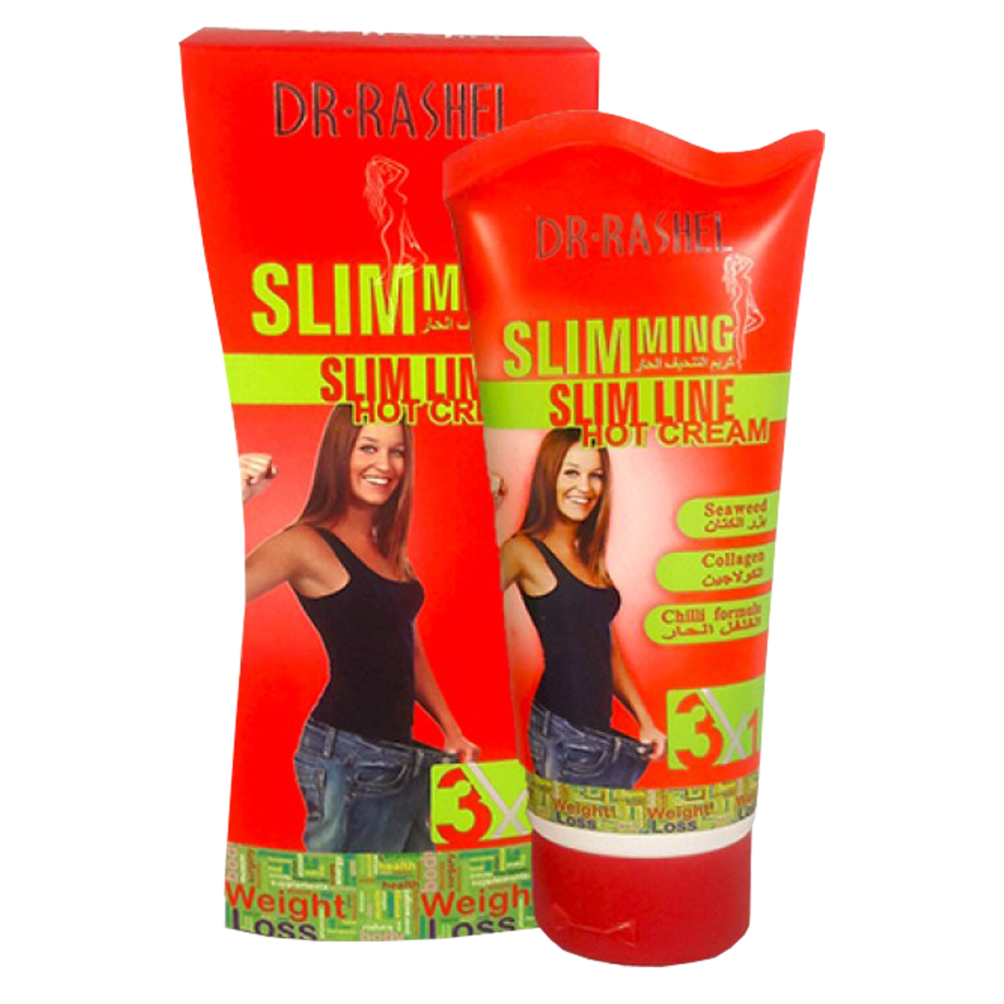 Dr Rashel Slimming Hot Cream 3-1. 150g