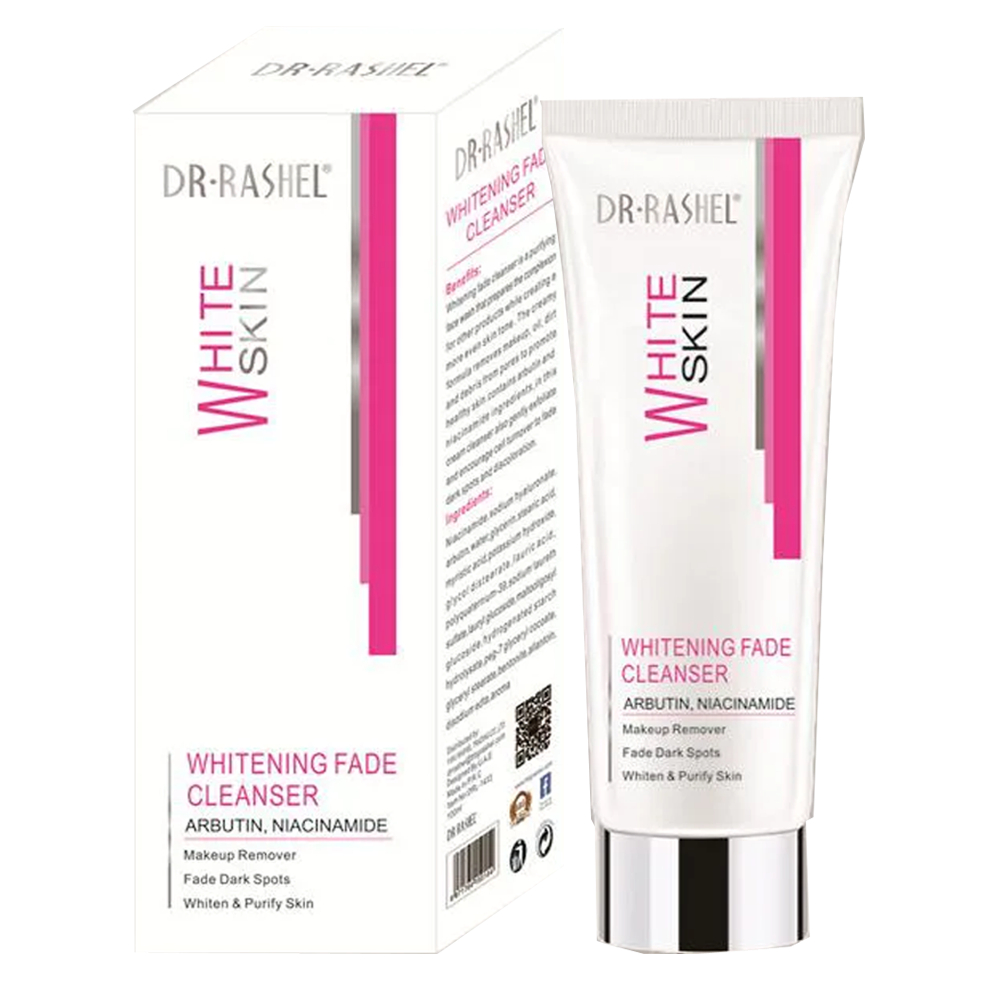 Dr Rashel White Skin Cleanser & Whitener.80ml