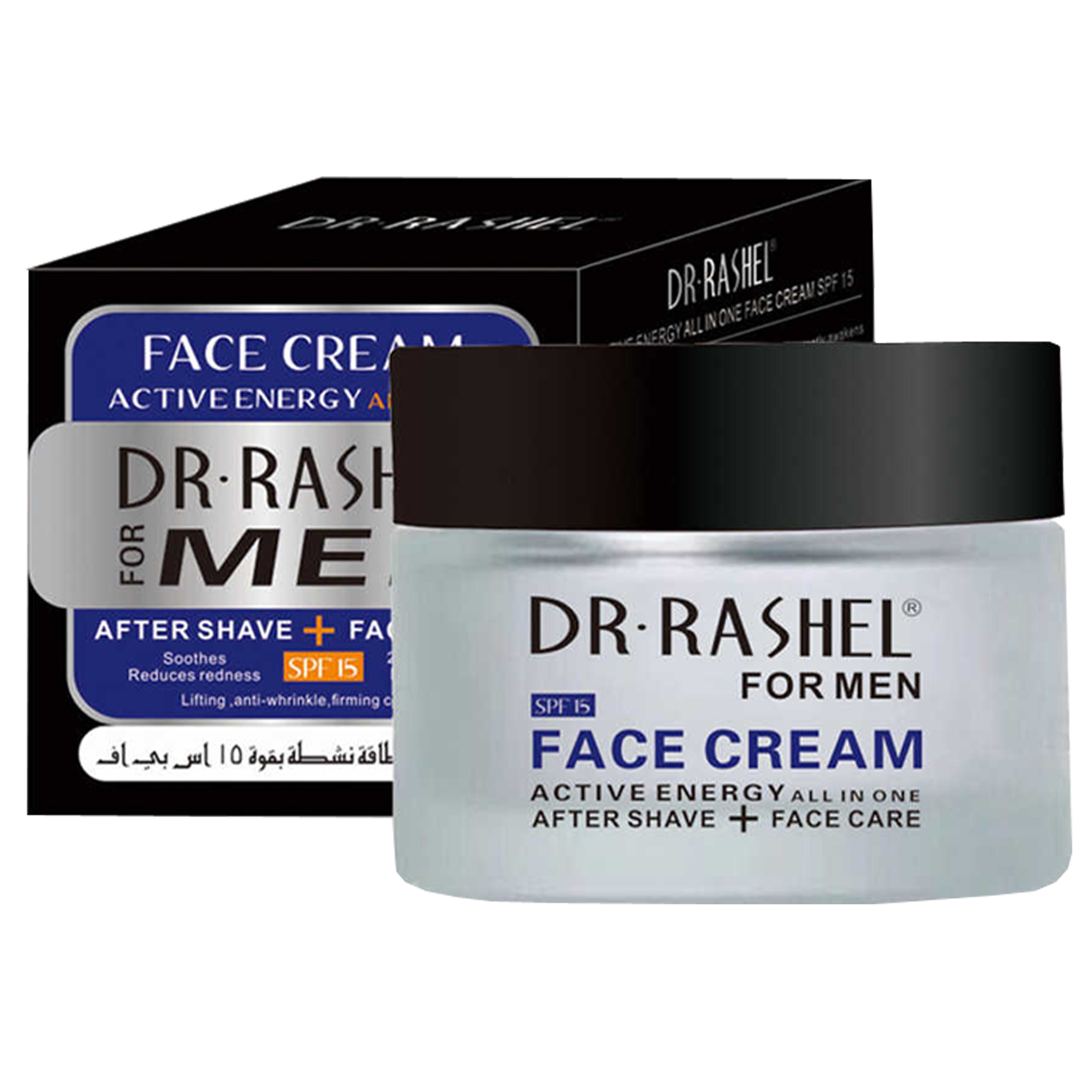 Dr Rashel Men Aftershave & Face Cream - Greatest deals