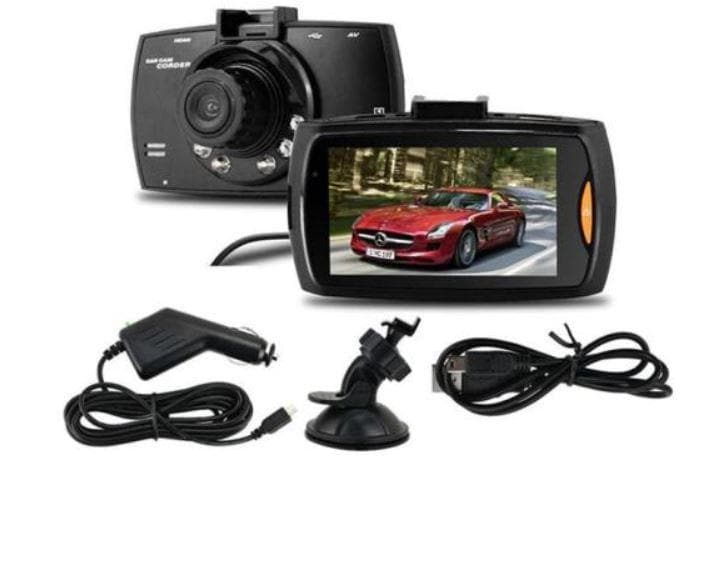 Vehicle Dash Cam - HD Car Blackbox DVR