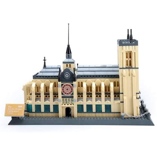 3D Notre-Dame de Paris Puzzle Mini Blocks (2304)