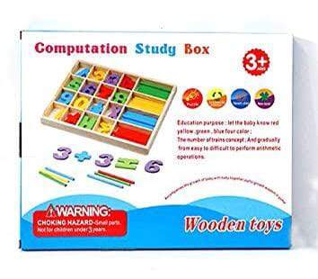 Computation Math Study Box Culer Montessori