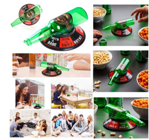 Spin the Bottle Drinking Party Game - Greatest deals