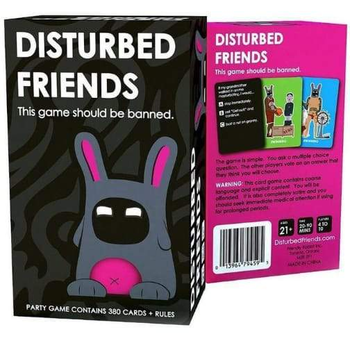 DISTURBED FRIENDS – CARD GAME