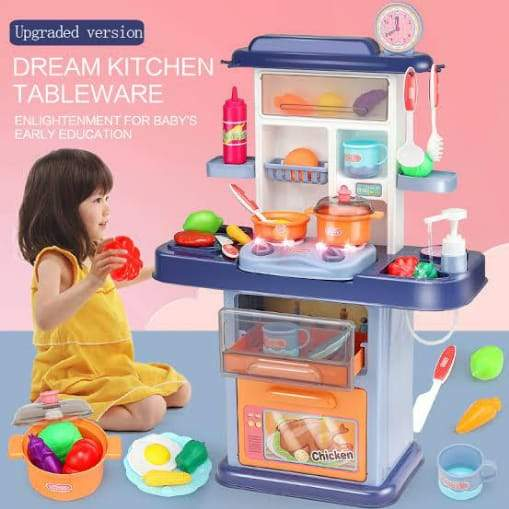 Dream Kitchen Play Set 32 Pcs Size 70 x 47.5 x 22 cm - Greatest deals