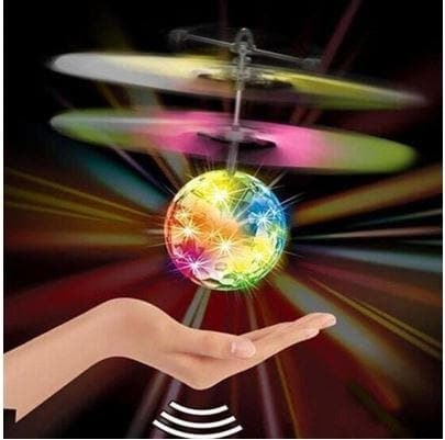 Flying Ball Helicopter Ball With Built-In LED Lighting DRONE - Greatest deals
