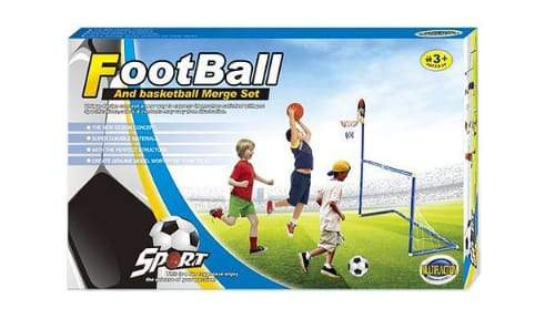 Outdoor Sport Set/Football, Basketball - Greatest deals