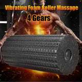 Vibrating Electric Foam Roller, Slimerence Rechargeable Electric Foam Massager (4-Speed ) - Greatest deals